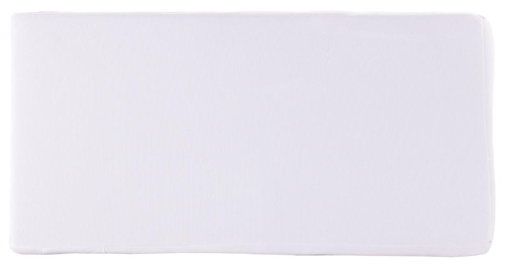 Матрас Qvatro KPK-7 люкс тонкий (кокос, поролон, кокос)  белый