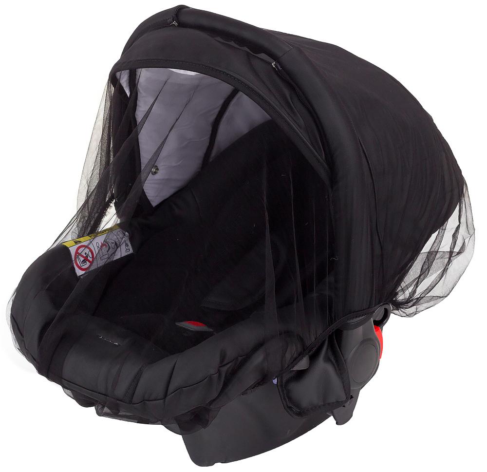 Москитная сетка универсальная Qvatro Moskit01 Lux  черная