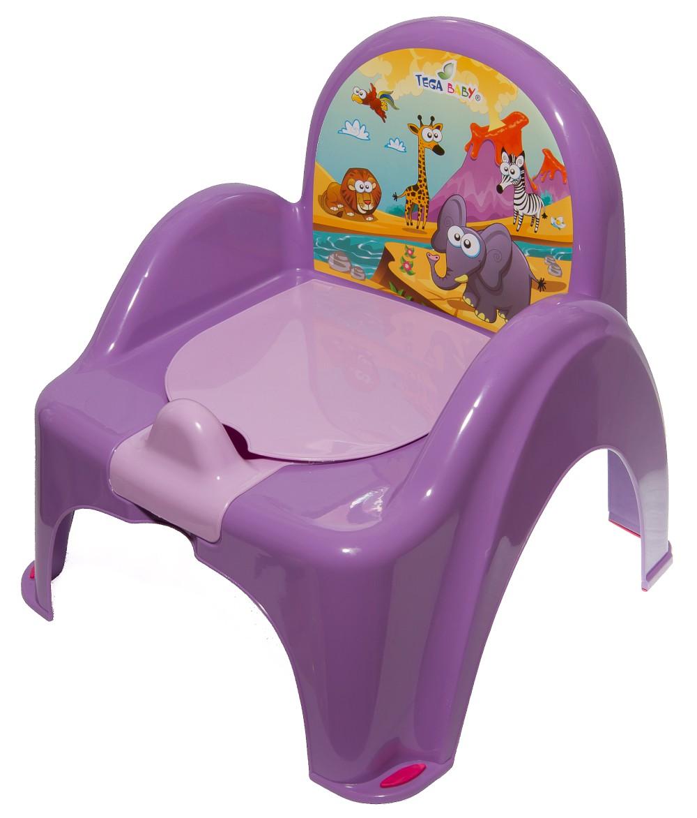 Горшок-стульчик Tega Safari SF-010 128 dark violet