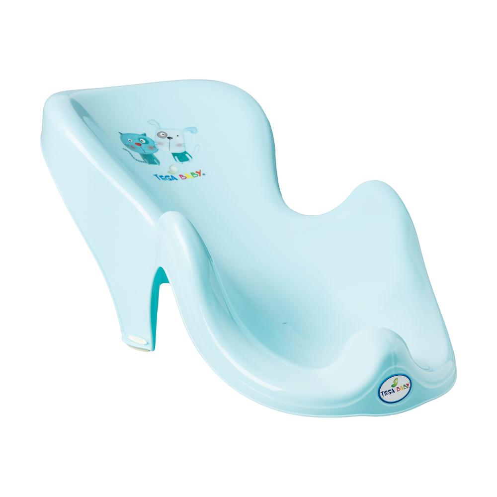 Горка для купания Tega Dog & Cat PK-003 нескользящая 101 light blue