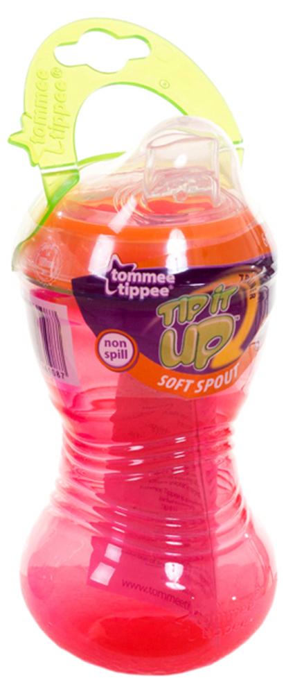 Поилка Tommee Tippee Tip it UP от 6-ти мес. (300ml)  голубой, розовый и салатовый