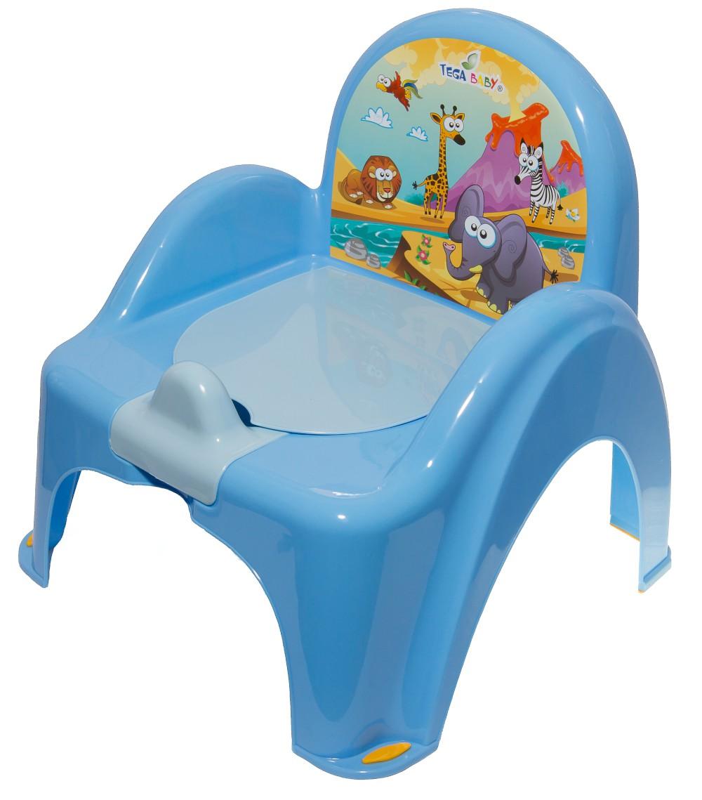Горшок-стульчик Tega Safari SF-010 126 blue