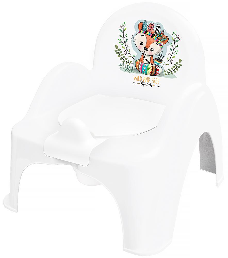 Горшок-стульчик Tega Wild & Free Little Fox DZ-007 103 white-green