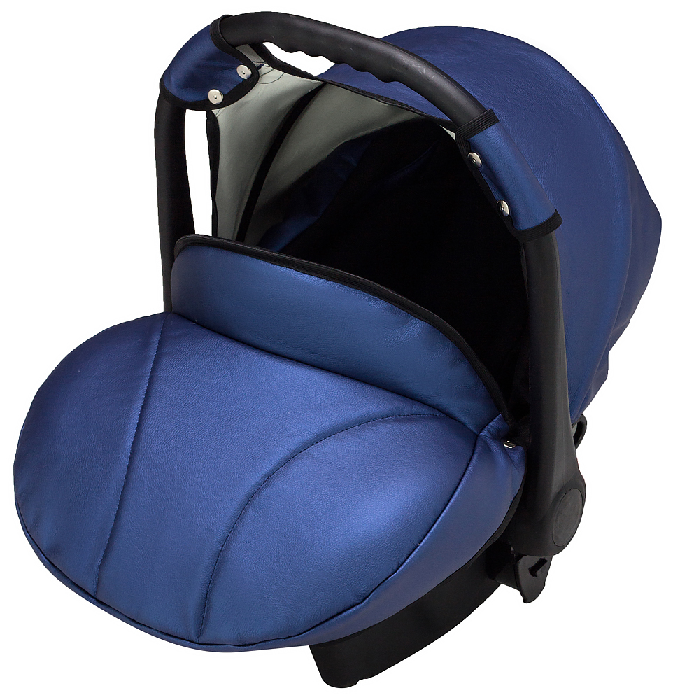 Автокресло Bair Carlo кожа 100% CP-27 темно-синий перламутр