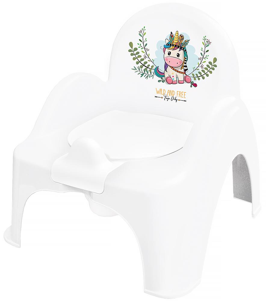 Горшок-стульчик Tega Wild & Free Unicorn DZ-007 103 white-pink
