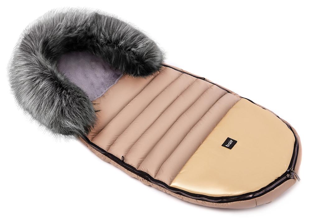 Зимний конверт Bair Polar premium  капучино - золотая кожа
