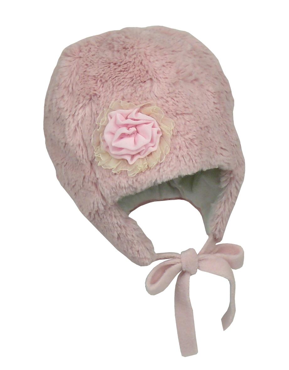 Зимняя шапка для девочки без помпона