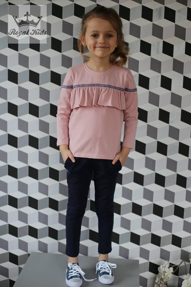 Трикотажные штаны для девочки