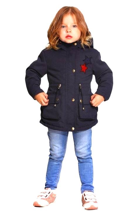 Деми куртка-парка для девочки