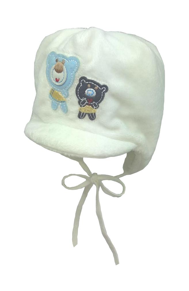 Зимняя шапка для мальчика без помпона