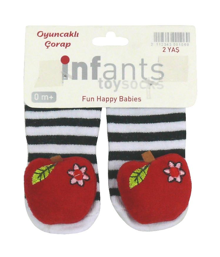 Носки-игрушка для девочки