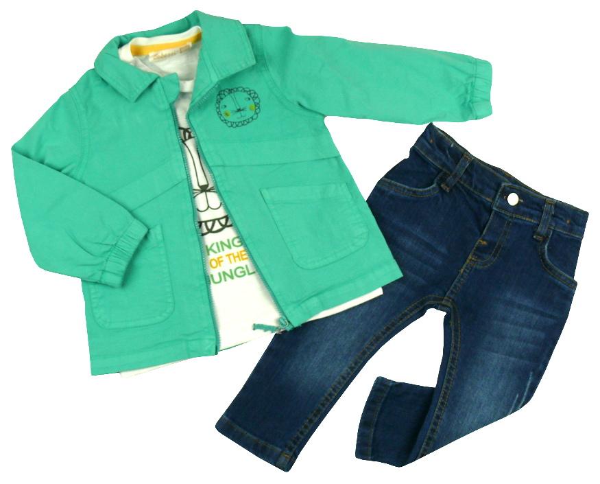 Джинсы, реглан и курточка для мальчика